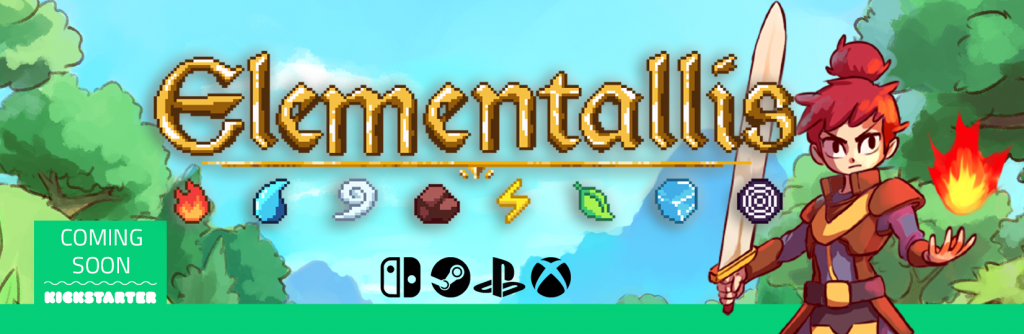 Elementallis is coming soon to Kickstarter